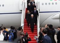 假日租车外事接待:意大利共和国总统马塔雷拉访渝